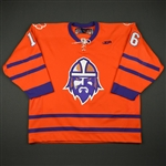 Kantor, Michael<br>Orange Clemson Univ. Night<br>Greenville Road Warriors 2013-14<br>#16 Size:56