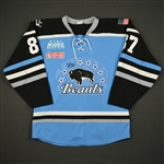 Beikirch, Morgan<br>Blue Regular Season<br>Buffalo Beauts 2016-17<br>#87 Size: Medium