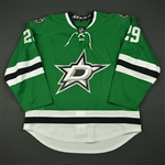 Backman, Christian<br>Green Set 1 - Preseason Only<br>Dallas Stars 2016-17<br>#29 Size: 56