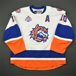 Mayfield, Scott *<br>White w/A<br>Bridgeport Sound Tigers 2016-17