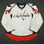 Barber, Riley<br>White Set 2<br>Washington Capitals 2016-17<br>#24 Size: 56