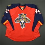 Gudbranson, Erik *<br>Red Set 1 - Photo-Matched<br>Florida Panthers 2015-16<br>#44 Size: 58