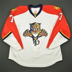 Kulikov, Dimitri *<br>White Set 3 - Photo-Matched<br>Florida Panthers 2015-16<br>#7 Size: 58