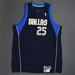 Dampier, Erick<br>Navy Set 2<br>Dallas Mavericks 2004-05<br>#25 Size: 54+4