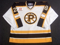 Smith, Kenny<br>White Set 1<br>Providence Bruins 2006-07<br>#28 Size: 58