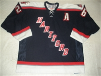 Lampman, Bryce<br>Navy Set 2 w/A<br>Hartford Wolf Pack 2006-07<br>#26 Size: 56