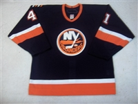 Figren, Robin<br>Navy Set 1 GI<br>New York Islanders 2006-07<br>#41 Size: 54