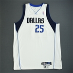Dampier, Erick<br>White GI<br>Dallas Mavericks 2005-06<br>#25 Size: 54+4