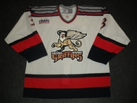 Syvret, Dan<br>White Set 1<br>Grand Rapids Griffins 2006-07<br>#3 Size: 56