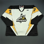 Goulet, Stephane<br>White Set 1<br>Stockton Thunder 2006-07<br>#27 Size: 58