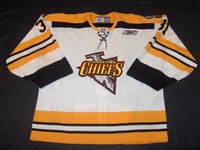 Currie, David<br>White Set 1<br>Johnstown Chiefs 2004-05<br>#31 Size: 58G