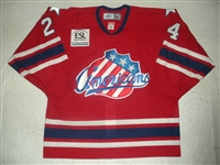 Stewart, Anthony<br>Red Set 1<br>Rochester Americans 2006-07<br>#24 Size: 54