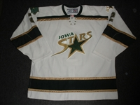 Grossmann, Nicklas<br>White Set 1<br>Iowa Stars 2006-07<br>#2 Size: 58