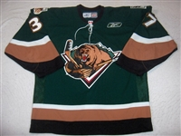 Craig, Matt<br>Green Set 1<br>Utah Grizzlies 2006-07<br>#37 Size: 54
