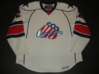 McArdle, Kenndal<br>White Set 1<br>Rochester Americans 2007-08<br>#22 Size: 58