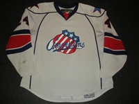 Stewart, Anthony<br>White Set 1<br>Rochester Americans 2007-08<br>#24 Size: 58