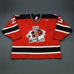 Skrlac, Rob * <br>Red Auto<br>Albany River Rats 1998-99<br>#23
