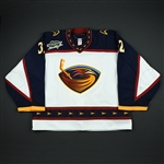 Lehtonen, Kari<br>Eastern Conference - White YoungStars<br>Atlanta Thrashers 2006-07<br>#32 Size: 58G
