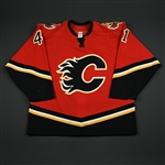 Boyd, Dustin<br>Red Set 1<br>Calgary Flames 2006-07<br>#41 Size: 54