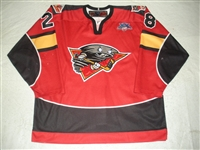 Miller, Gerard<br>Red Set 1<br>Cincinnati Cyclones 2007-08<br>#28 Size: 56