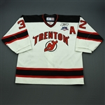 Pepperall, Colin<br>White Set 1 w/A<br>Trenton Devils 2007-08<br>#32