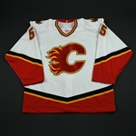 Pardy, Adam<br>White Set 1 GI<br>Calgary Flames 2006-07<br>#55 Size: 56