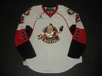 May, Scott<br>White Set 1 w/ 2008 AHL All-Star Classic patch<br>Binghamton Senators 2007-08<br>#21 Size: 56