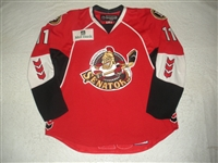 McKenzie, Jim<br>Red Set 1 w/ 2008 AHL All-Star Classic patch<br>Binghamton Senators 2007-08<br>#11 Size: 58