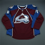 Clarke, Matt<br>Burgundy Set 1 - Training Camp Only<br>Colorado Avalanche 2009-10<br>#46 Size: 56