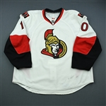 Donovan, Shean<br>White Set 2<br>Ottawa Senators 2009-10<br>#10 Size: 58