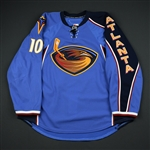 Little, Bryan<br>Blue YoungStars<br>Atlanta Thrashers 2008-09<br>#10 Size: 56