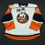 Bailey, Josh<br>White Set 1<br>New York Islanders 2008-09<br>#12 Size: 56