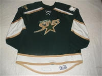 McKee, David<br>Green Set 1 (Back-up only)<br>Iowa Stars 2007-08<br>#1 Size: 60G