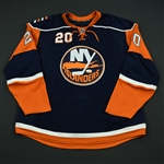 Bergenheim, Sean<br>Navy Set 3<br>New York Islanders 2008-09<br>#20 Size: 58