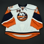 DiPietro, Rick<br>White Set 2<br>New York Islanders 2008-09<br>#39 Size: 58+G