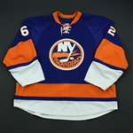Fraser, Jamie<br>Third Set 2 - NHL Debut<br>New York Islanders 2008-09<br>#62 Size: 58