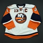 Guerin, Bill<br>White Set 3 w/C<br>New York Islanders 2008-09<br>#13 Size: 56