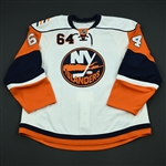 Hart, Gerry<br>White Set 1 - Training Camp Only<br>New York Islanders 2008-09<br>#64 Size: 58