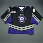 Giuliano, Jeff * <br>Black Set 2<br>Reading Royals 2002-03<br>#18 Size: 56