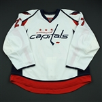 Alzner, Karl<br>White Set 2 - Rookie Season<br>Washington Capitals 2008-09<br>#27 Size: 58