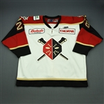 Beauregard, Thomas<br>White Set 1<br>Wheeling Nailers 2009-10<br>#28 Size: 58