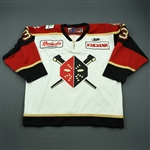 Kinley, Cleve<br>White Set 1<br>Wheeling Nailers 2009-10<br>#3 Size: 56
