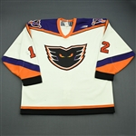 Lank, Jeff * <br>White<br>Philadelphia Phantoms 1998-99<br>#12 Size: 54