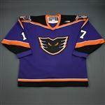Wesenberg, Brian * <br>Purple<br>Philadelphia Phantoms 1998-99<br>#17 Size: 54