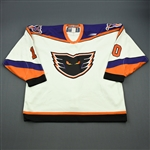 Law, Kirby * <br>White<br>Philadelphia Phantoms 1999-00<br>#10 Size: 56