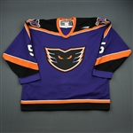 Skrobot, Sergei * <br>Purple<br>Philadelphia Phantoms 1999-00<br>#5 Size: 54