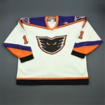 Washburn, Steve * <br>White<br>Philadelphia Phantoms 1999-00<br>#11 Size: 58