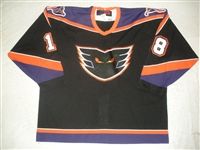 Divisek, Tomas * <br>Black<br>Philadelphia Phantoms 2000-01<br>#18 Size: 56