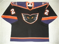 Herr, Matt * <br>Black<br>Philadelphia Phantoms 2000-01<br>#22 Size: 56