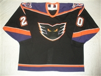 Hewson, Russ * <br>Black<br>Philadelphia Phantoms 2000-01<br>#20 Size: 56